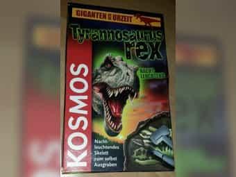 Gebraucht, Giganten der Urzeit: Tyrannosaurus Rex, Nacht leuchtend gebraucht kaufen  27283 Verden