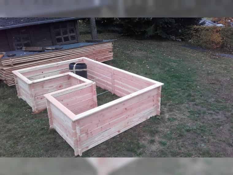 Hochbeet Holz Douglasie Larche Fruhbeet Komposter Bauler Bei