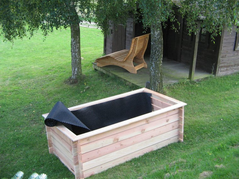 Hochbeet Holz Douglasie Larche Komposter Fruhbeet Bauler